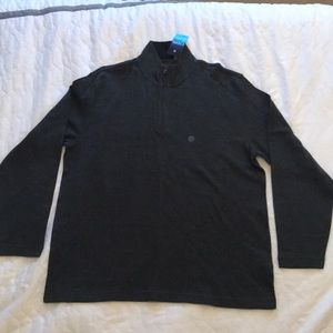 NWT Zigzag Pattern Zip-up Pullover